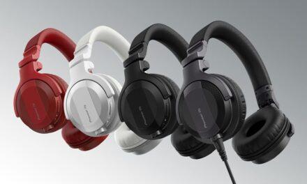 Pioneer DJ presenta los auriculares HDJ-CUE1: incorporan todas las características de su línea profesional a un precio mucho más asequible