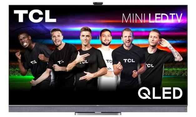 TCL Europa desvela los nuevos televisores Mini-LED y QLED, barras de sonido y otros productos multi categoría, así como una nueva campaña de marca para una experiencia exclusiva de Euro 2021