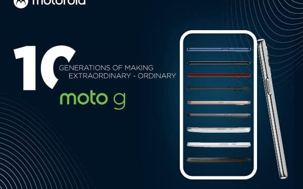 Motorola celebra 10 generaciones de su familia g