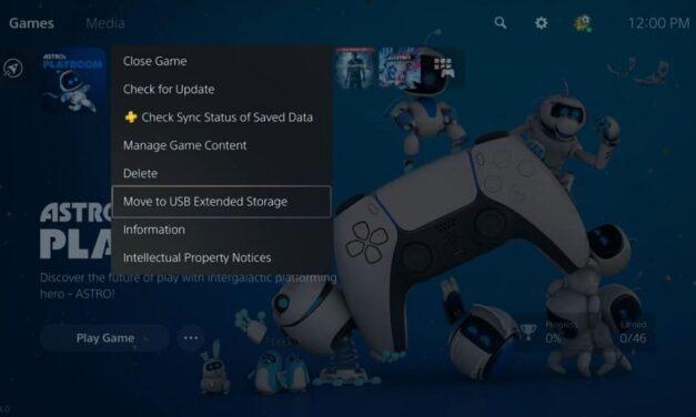 La actualización de abril de PS5 ofrece nuevas opciones de almacenamiento y funciones sociales