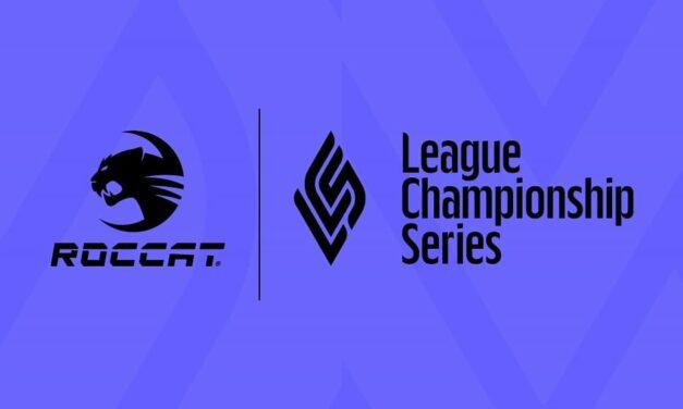 ROCCAT se convierte en proveedor oficial de ratones y teclados de la League Championship Series (LCS)