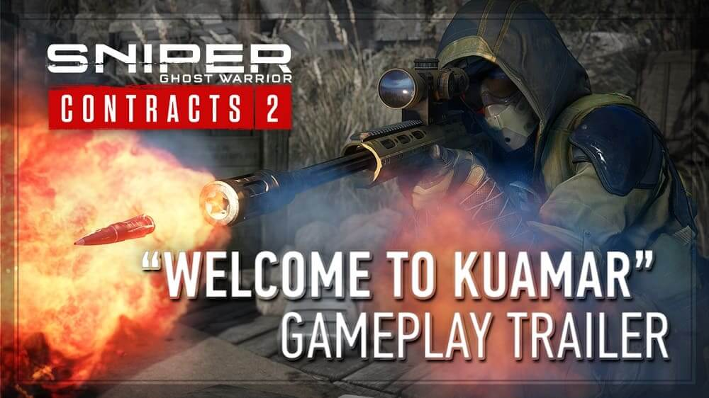 Sniper Ghost Warriors Contracts 2 nuevo tráiler de juego de Kuamar