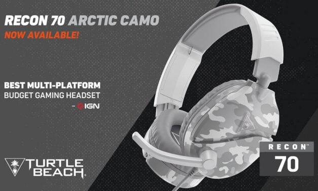 Ya están a la venta los auriculares Turtle Beach Recon 70 Artic Camo