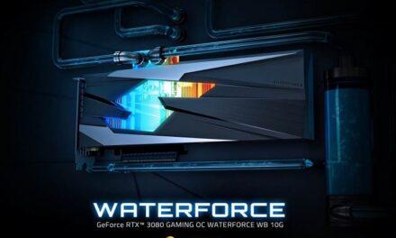 GIGABYTE lanza la tarjeta gráfica GeForce RTX 3080 GAMING OC WATERFORCE WB 10G