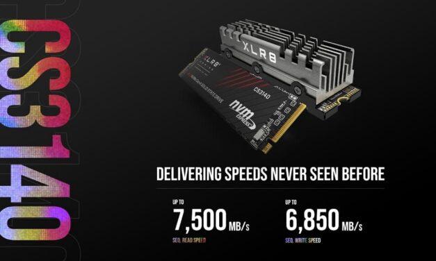 PNY anuncia la disponibilidad de nuevas unidades de disco SSD PNY XLR8 CS3140 M.2 NVMe Gen4x4