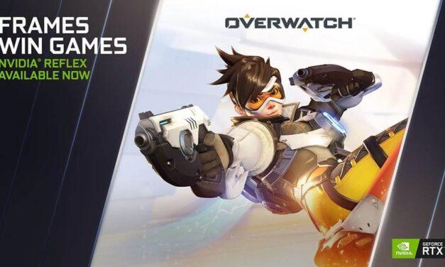 NVIDIA Reflex llega a Overwatch y anuncia más novedades