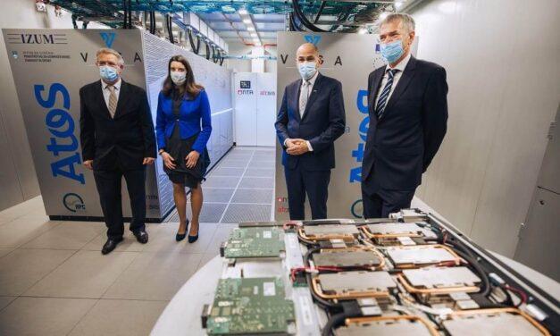 BullSequana de Atos impulsa el primer superordenador EuroHPC operativo en IZUM en Eslovenia