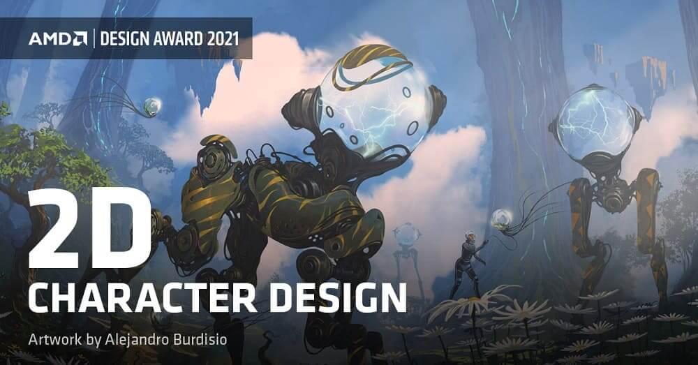 AMD anuncia un nuevo Premio de Diseño para artistas gráficos por ordenador