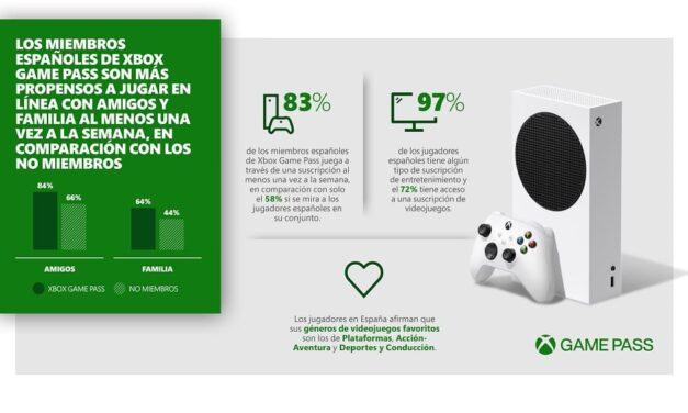 Xbox Game Pass ayuda a los jugadores españoles a mantenerse conectados