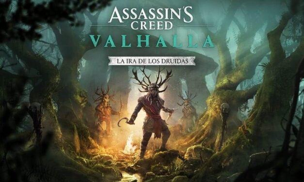 """La primera expansión de Assassin's Creed Valhalla, """"La Ira de los Druidas"""", se lanza mañana"""