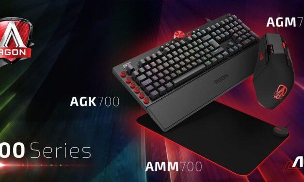 AOC amplía su ecosistema gaming con teclados mecánicos, ratones y alfombrillas
