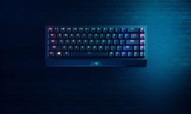 El teclado más legendario evoluciona con el nuevo BlackWidow V3 Mini HyperSpeed