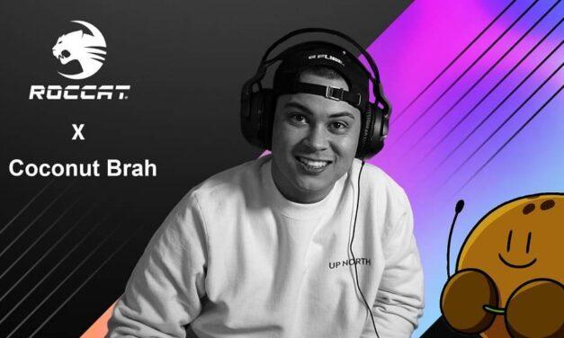 Roccat se asocia con el famoso YouTuber Coconut Brah