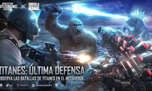 La película interactiva de Godzilla vs. Kong ya está disponible en PUBG MOBILE