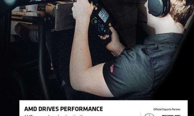 AMD anuncia una nueva asociación con el equipo de Esports Mercedes-AMG Petronas
