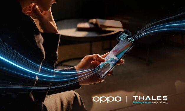 Llega la primera eSIM del mundo compatible con 5G SA desarrollado por OPPO y Thales