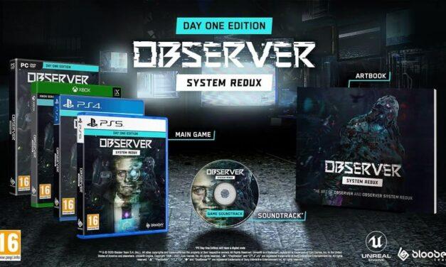 El galardonado thriller Observer: System Redux llegará en formato físico a PS4 y Xbox One