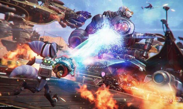 Ratchet & Clank: Una dimensión aparte presenta nuevas armas y artilugios en la fiesta prelanzamiento de Zurkon Jr.