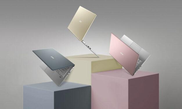 Acer presenta Swift X, que incluye la tarjeta gráfica NVIDIA GeForce RTX serie 30 para portátiles en un diseño fino y ligero