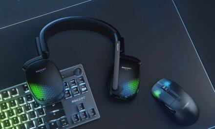 ROCCAT anuncia sus nuevos auriculares inalámbricos Syn Pro Air para PC