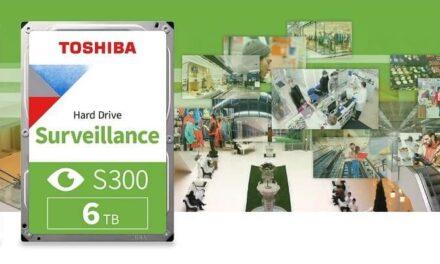 Toshiba refuerza su serie de discos duros para vigilancia