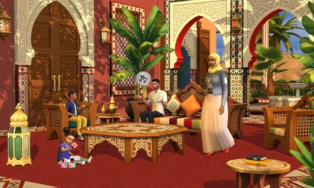 Los Sims 4 presentan 'Oasis en el Patio', el próximo Kit disponible a partir del 18 de mayo