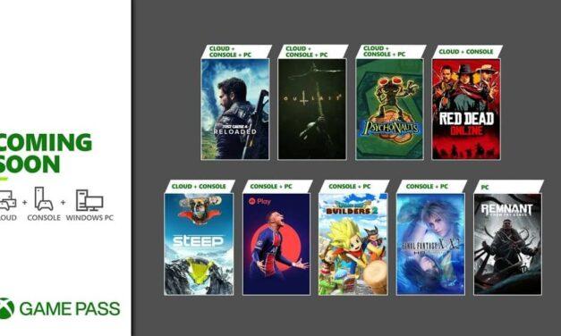 Próximamente en Xbox Game Pass: Red Dead Online, Final Fantasy X/X-2, FIFA 21 y más