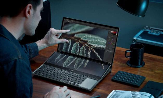 ASUS lanza su nuevo ZenBook con dos pantallas y gadgets incluidos para una experiencia única