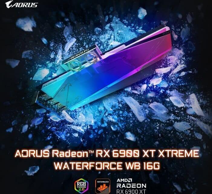 Gigabyte presenta la tarjeta gráfica Aorus Radeon RX 6900 XT Waterforce WB 16G