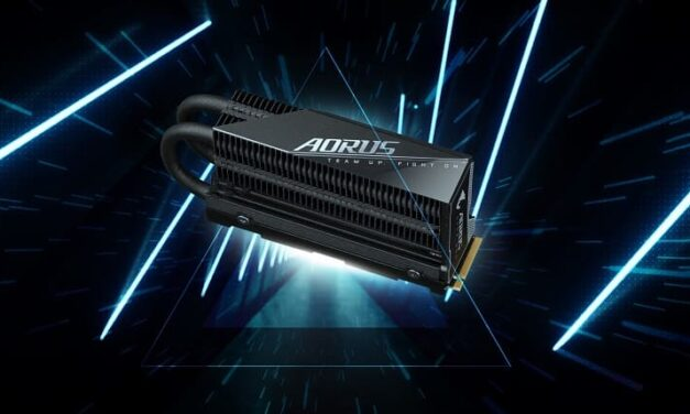 Gigabyte presenta el Aorus Gen4 7000s Prem SSD, tu elección más inteligente para un SSD de alta velocidad