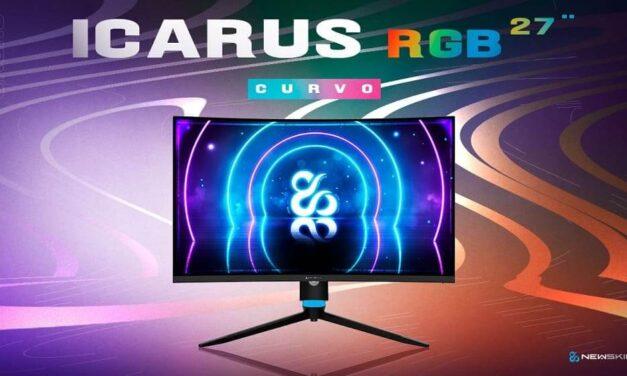 Newskill añade a su serie de monitores Icarus un nuevo modelo con pantalla curva