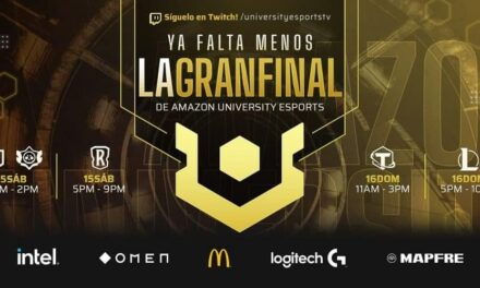 Mayo se convierte en el mes estrella de la competición Amazon UNIVERSITY Esports