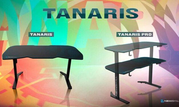 Newskill incorpora a su catálogo a Tanaris RGB y Tanaris RGB PRO, sus nuevas mesas gaming que revolucionarán tu setup