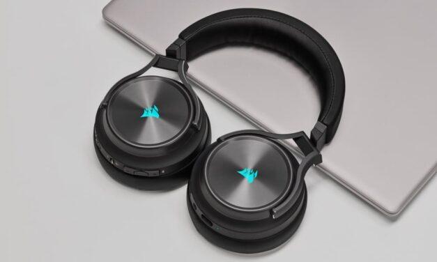 Corsair lanza los auriculares para juegos Virtuoso RGB Wireless XT