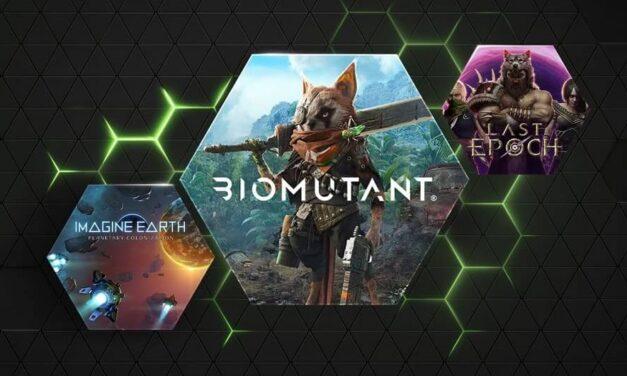 Jueves de GFN: lanzamiento de Biomutant, 22 juegos más 3 DLC llegan a GeForce NOW