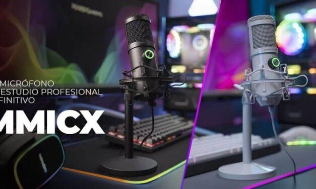 Nuevo micrófono de estudio profesional MMICX de Mars Gaming