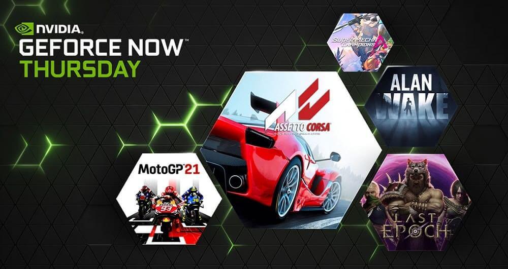 GeForce NOW recibirá 61 juegos en mayo