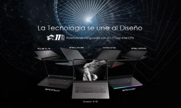 MSI presenta la nueva línea de portátiles para gamers y creadores