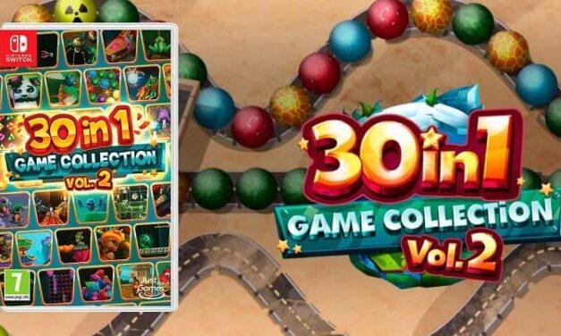 Ya puedes hacerte con 30-in-1 Game Collection Vol. 2 en edición física para Nintendo Switch