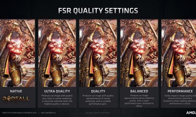 AMD lanza FidelityFX Super Resolution