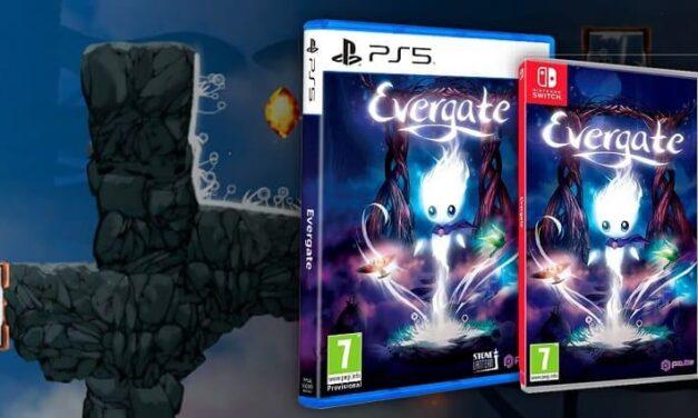 Evergate ya disponible en formato físico para Nintendo Switch, próximamente en PlayStation 5