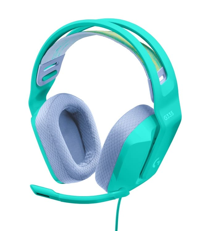 Logitech G presenta los auriculares gaming con cable G335, una nueva referencia para la Color Collection con un toque de menta