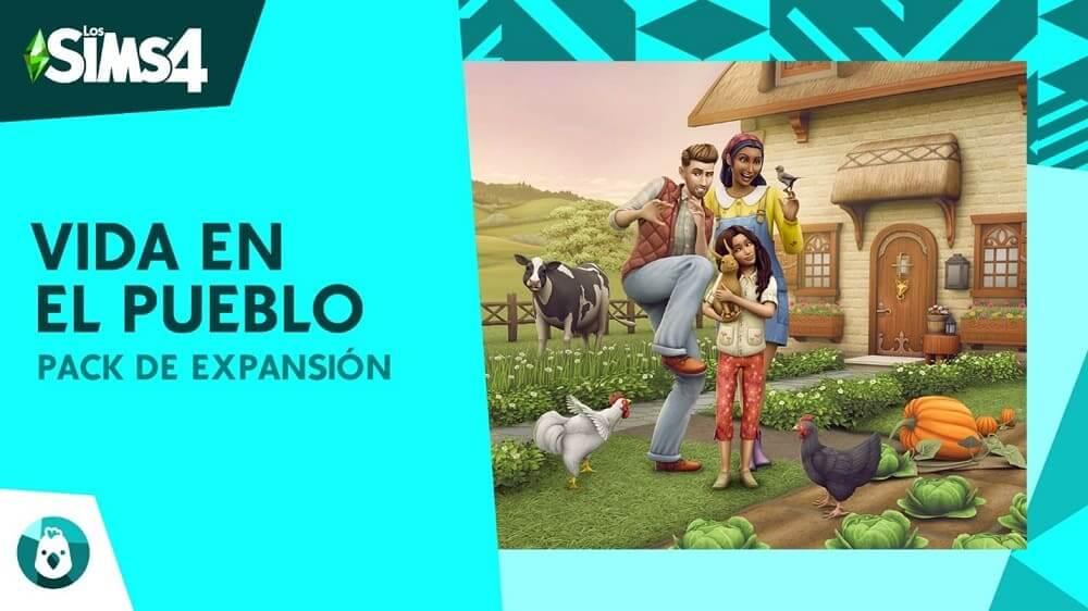Deléitate con el encanto del campo con Los Sims 4 Vida en el Pueblo, disponible el 22 de julio