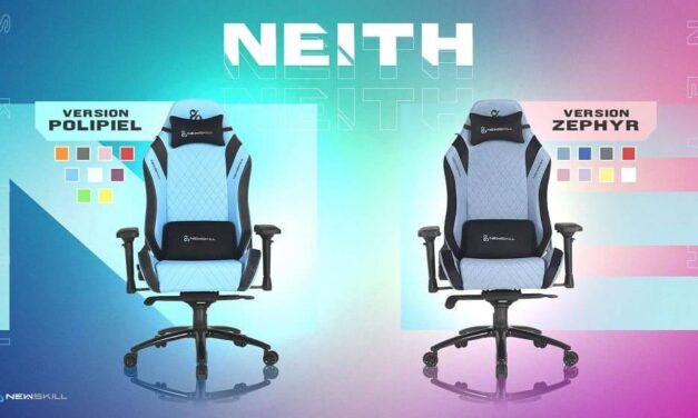 Newskill presenta Neith y Neith Zephyr, sus nuevas sillas gaming, que combinan diseño y confort a todo color