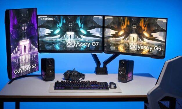 Samsung presenta su gama ampliada de monitores gaming Odyssey de 2021