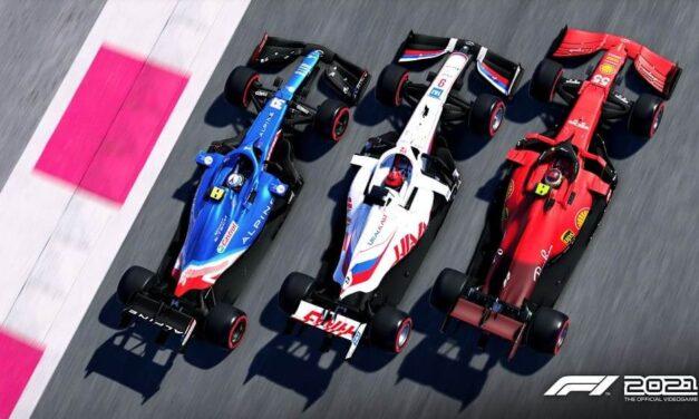 F1 2021 se prepara para el debut de la nueva generación