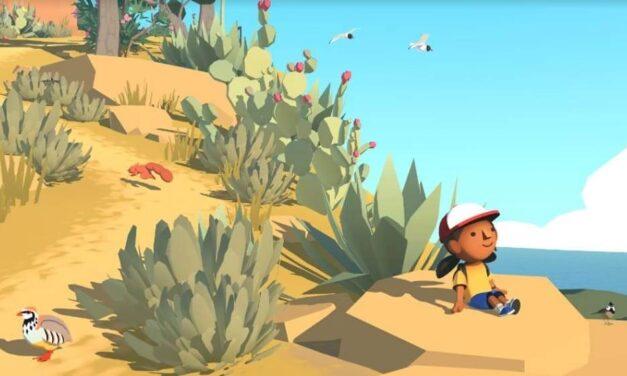 Alba: una aventura mediterránea llega hoy a PlayStation
