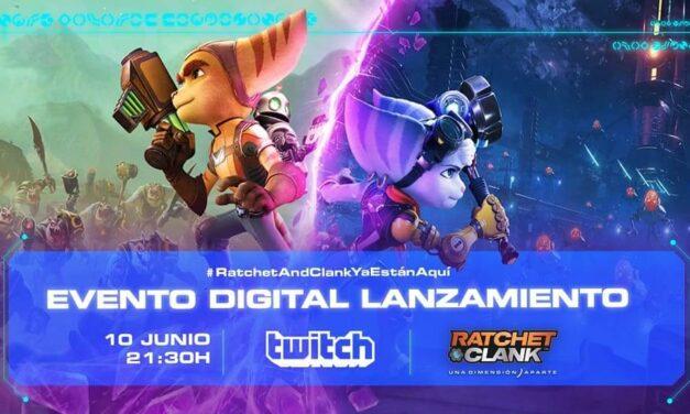 Este jueves 10, a las 21:30, tendrá lugar el evento digital presentación de Ratchet & Clank: Una Dimensión Aparte