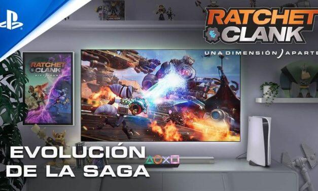 Ya disponible el tráiler evolución de la franquicia Ratchet & Clank