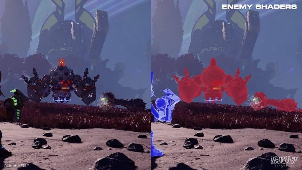 Ratchet & Clank: Una Dimensión Aparte presenta sus múltiples funciones de accesibilidad